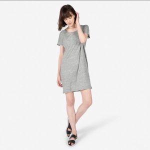 Everlane Linen Dolman Tee Dress Sz M